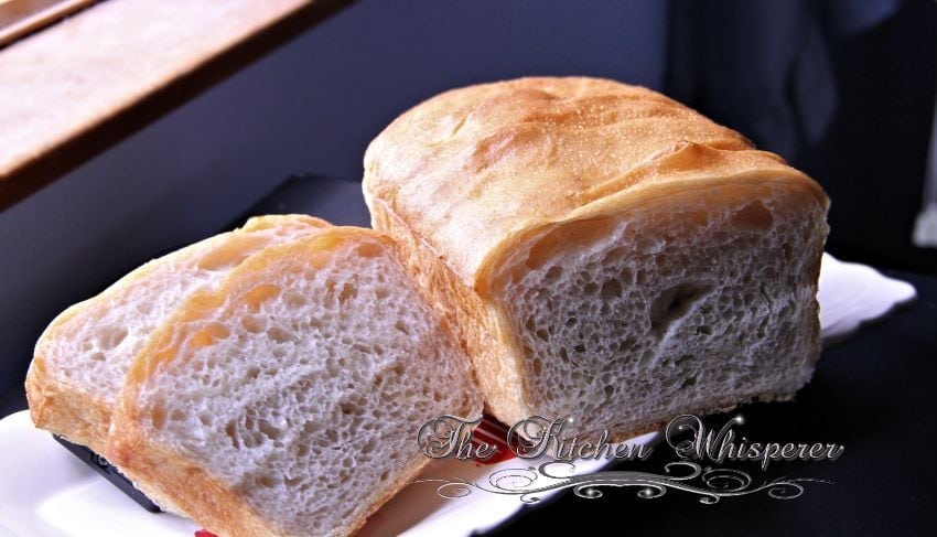 No Knead Crusty White Sandwich Bread4