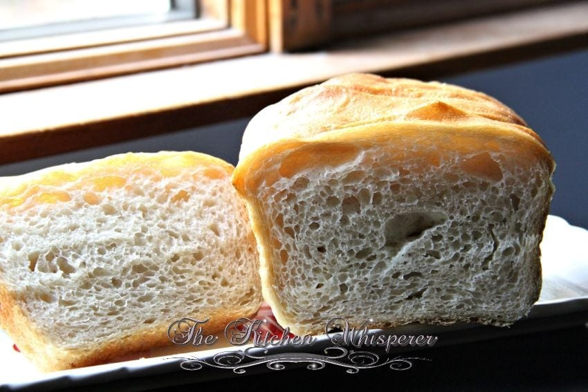 No Knead Crusty White Sandwich Bread6