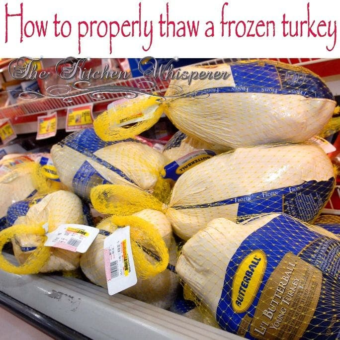 How to properly thaw a frozen turkey - Defrost chicken safe way ...