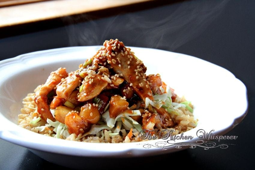 Crunchy Asian Hoisin Chicken