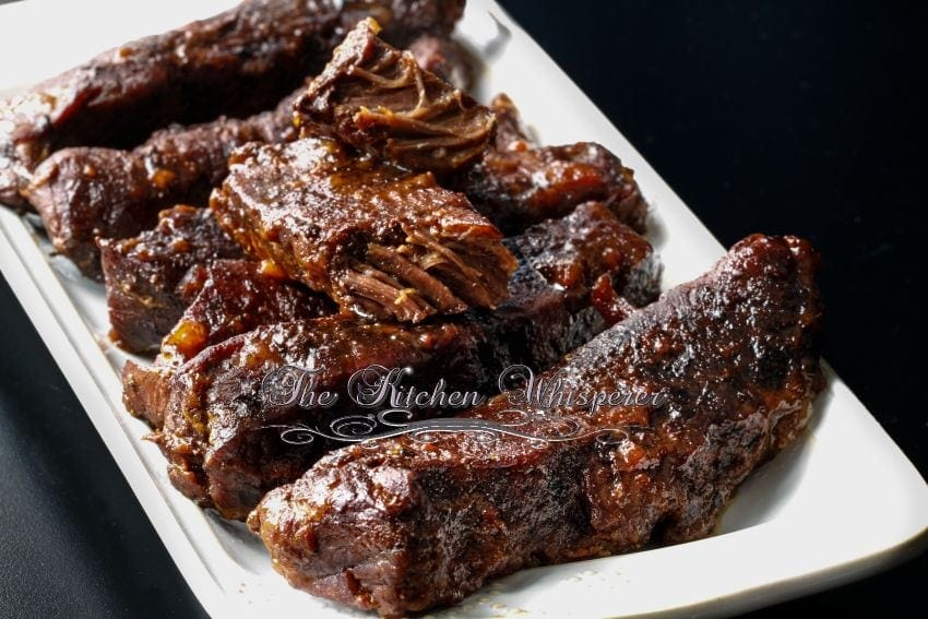 Slow Baked BBQ Boneless Beef ShortRibs2