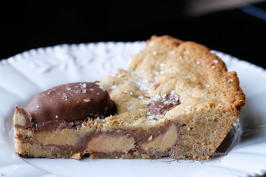 Cookie Butter Candy Pie