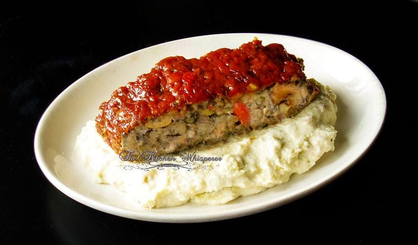 Ultimate Meatless Veggie Meatloaf1