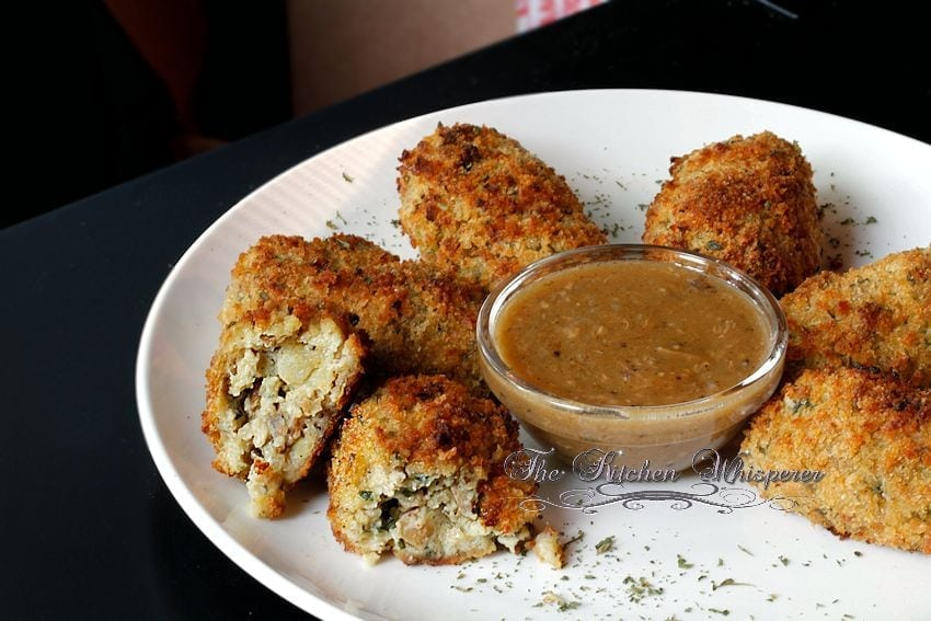 Baked Chicken Croquettes4