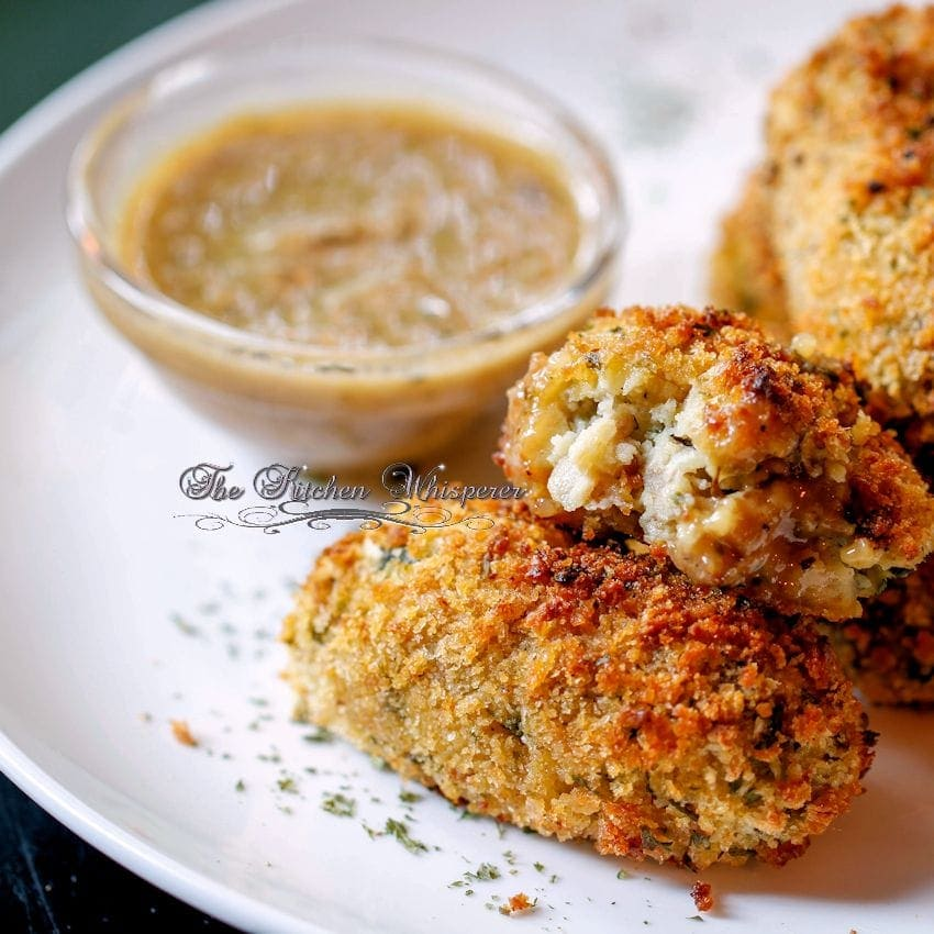 Baked Chicken Croquettes8