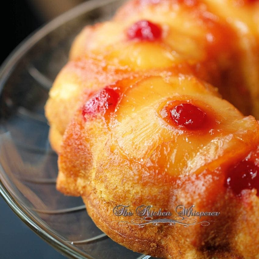 How To Make Pineapple Upside Down Cake Glaze