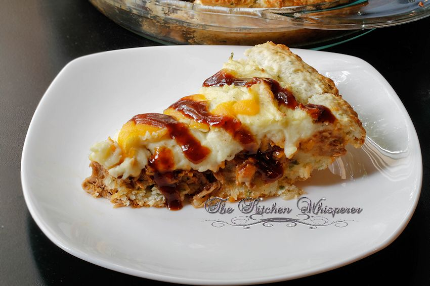 Pulled Pork Sheperds Pie