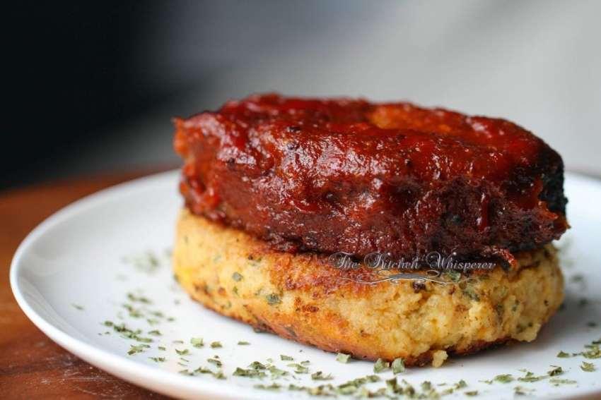 BBQ Meatloaf Stacks11