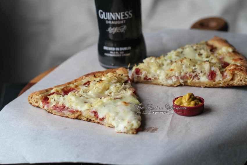 Guinness Reuben Pizza6