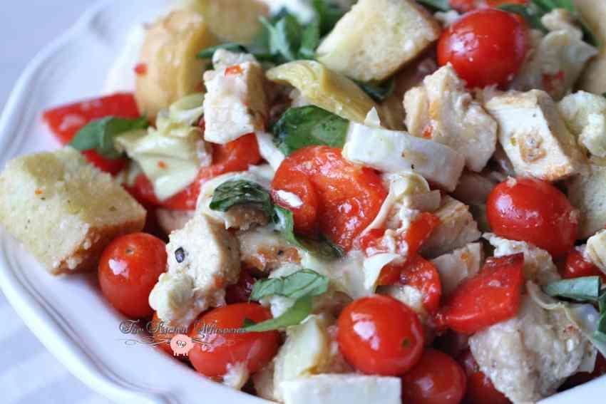 Italian Chicken Panzanella12