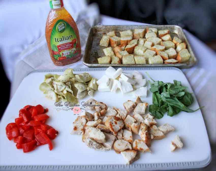 Italian Chicken Panzanella3
