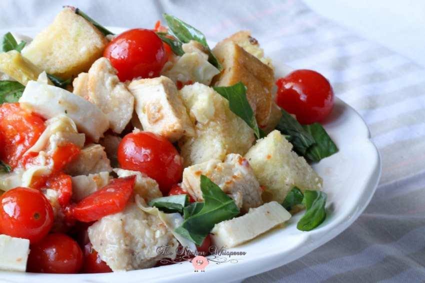 Italian Chicken Panzanella9