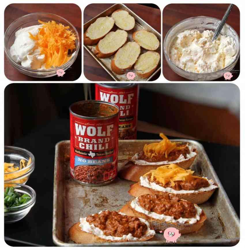 TKW Chili Cheese Bruschetta Collage