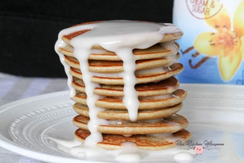 Vanilla Protein Pancakes6