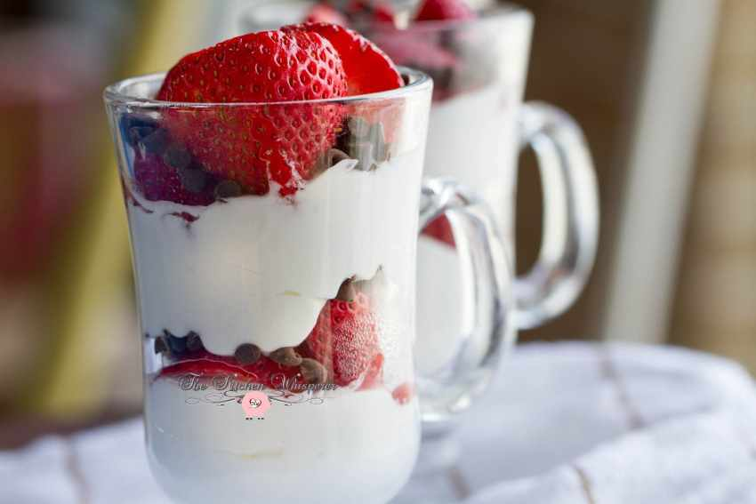 Cheesecake Fresh Berry Parfaits10