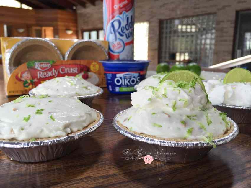 No Bake Key Lime Coconut Cheesecakes4