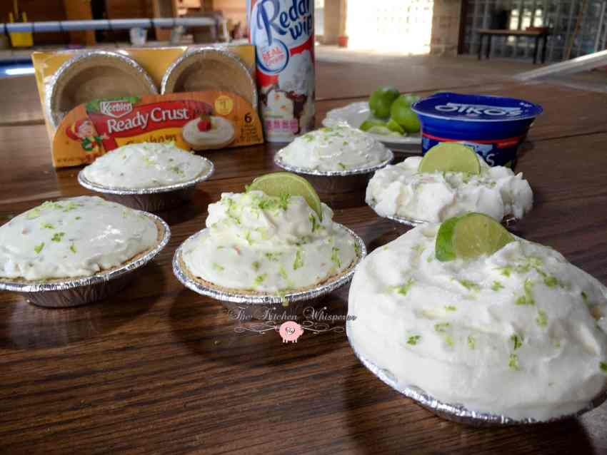 No Bake Key Lime Coconut Cheesecakes5