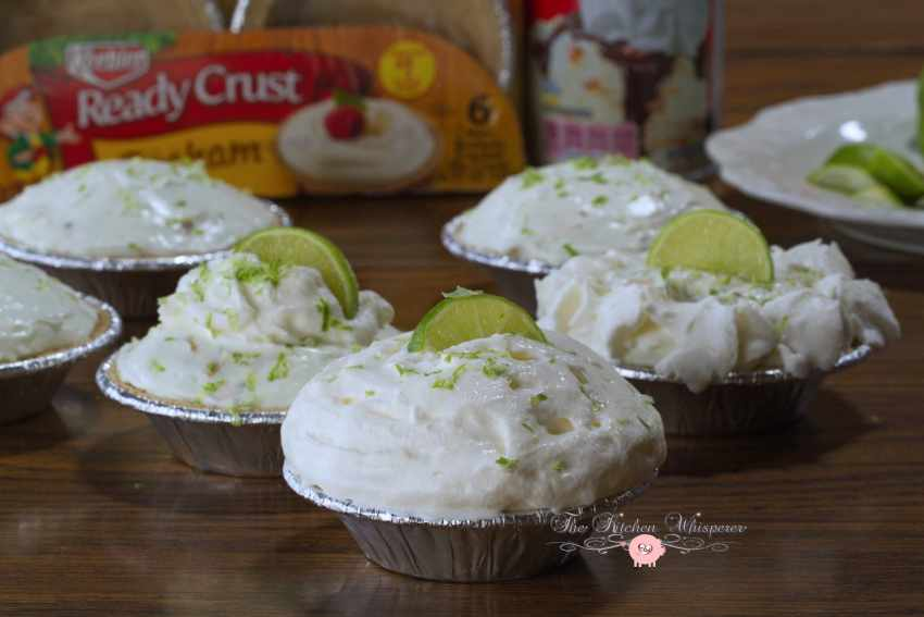 No Bake Key Lime Coconut Cheesecakes7