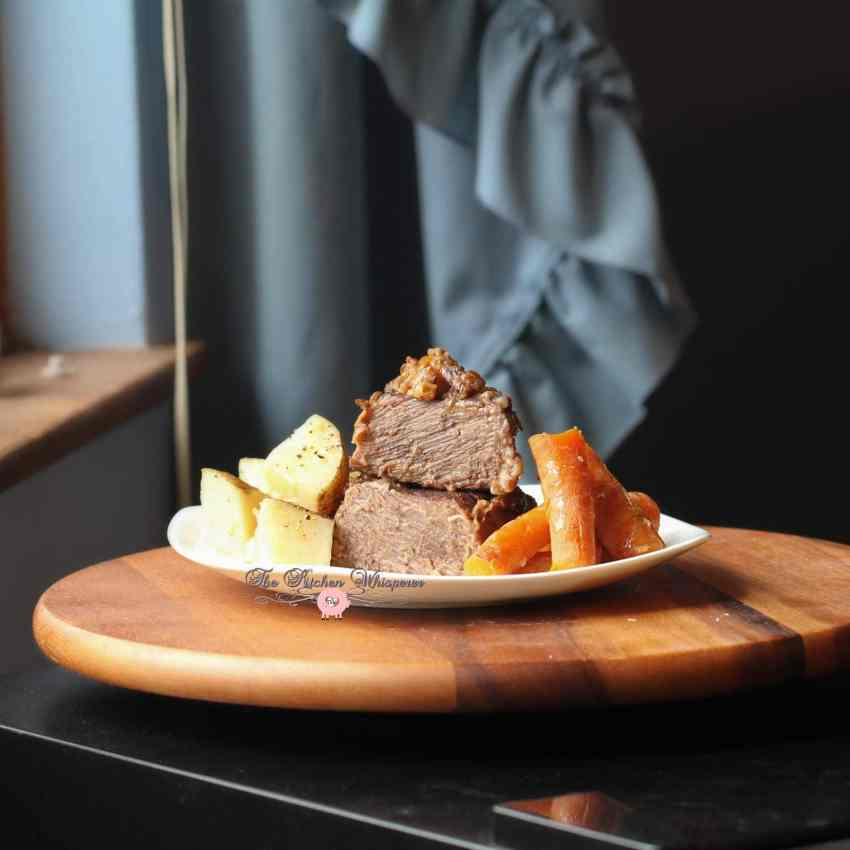 Pressure Cooker Beef Short Ribs Taters Carrots11