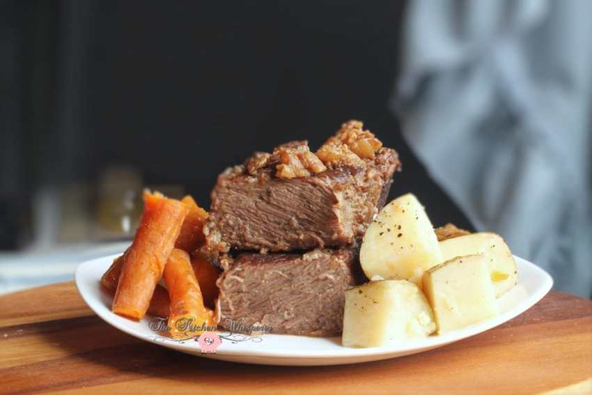 Pressure Cooker Beef Short Ribs Taters Carrots4