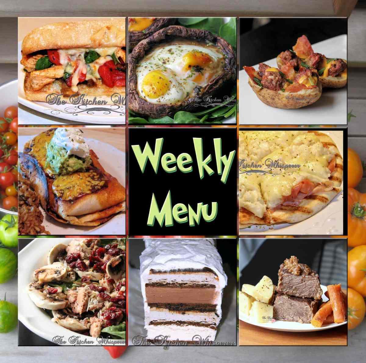 Kitchen Impossible 31 07: Weekly Menu