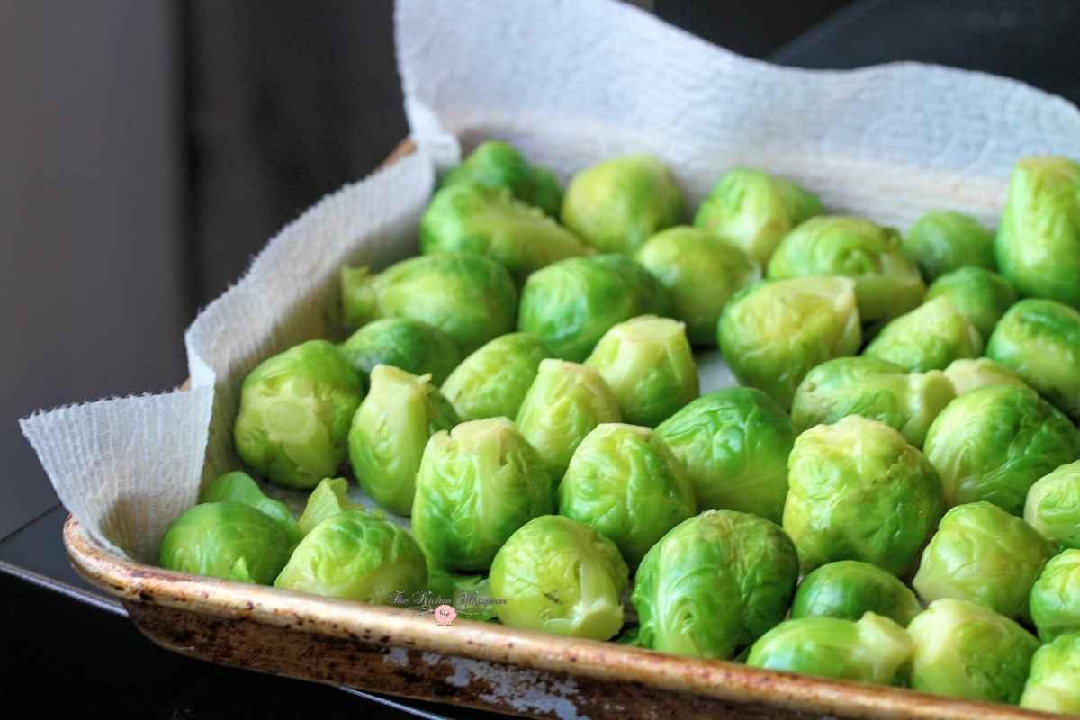 Italian Kitchen Brussel Sprouts Recipe