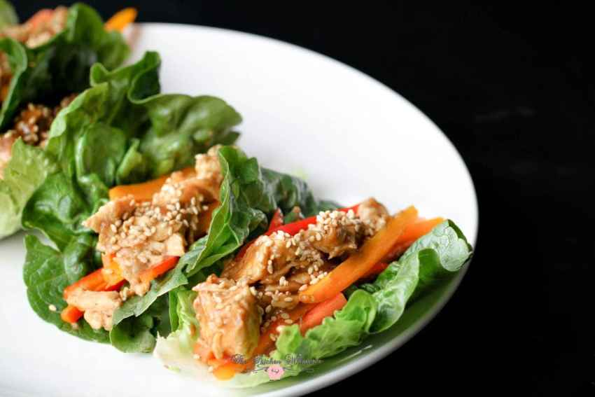 Thai Chicken Lettuce Wraps11