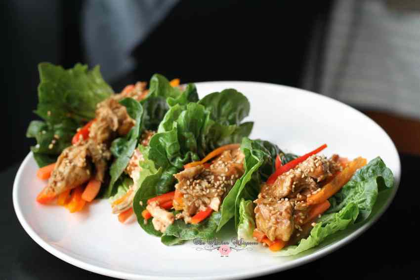 Thai Chicken Lettuce Wraps2