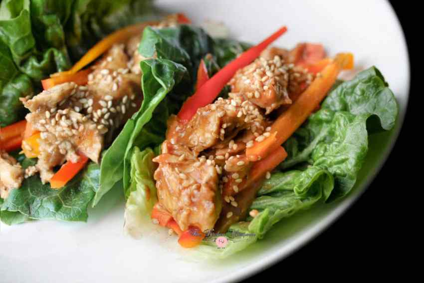 Thai Chicken Lettuce Wraps3