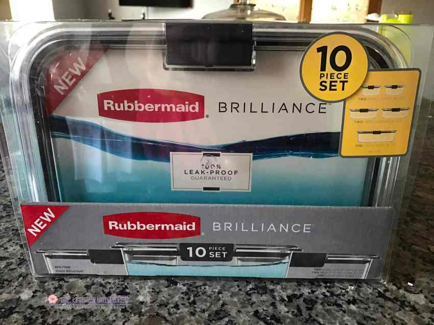 Weekly Meal Prep Made Simple With Rubbermaid 174 Brilliance