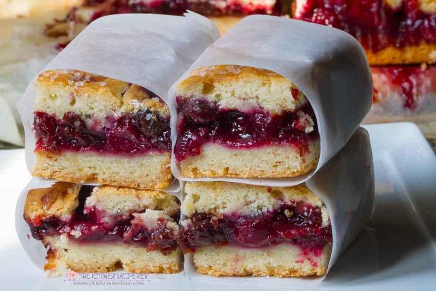 Easy & Super Delicious Cherry Pie Bars