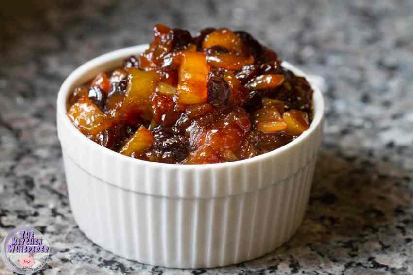 Spiced pear & Shallot Chutney