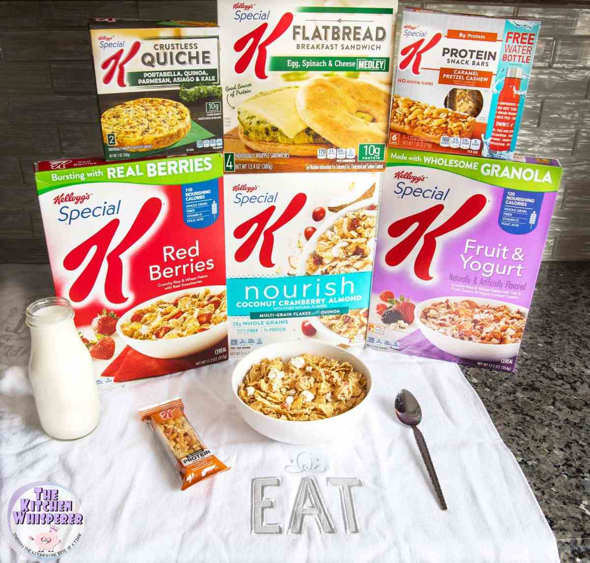 This is your year - OWN IT with Kellogg's Special K®!