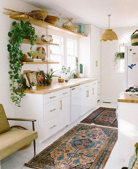Modern Boho Kitchens: Chic & Eclectic Style - The Kitchen ... on Boho Modern Decor  id=11136