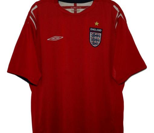 2004-06 England Away Shirt