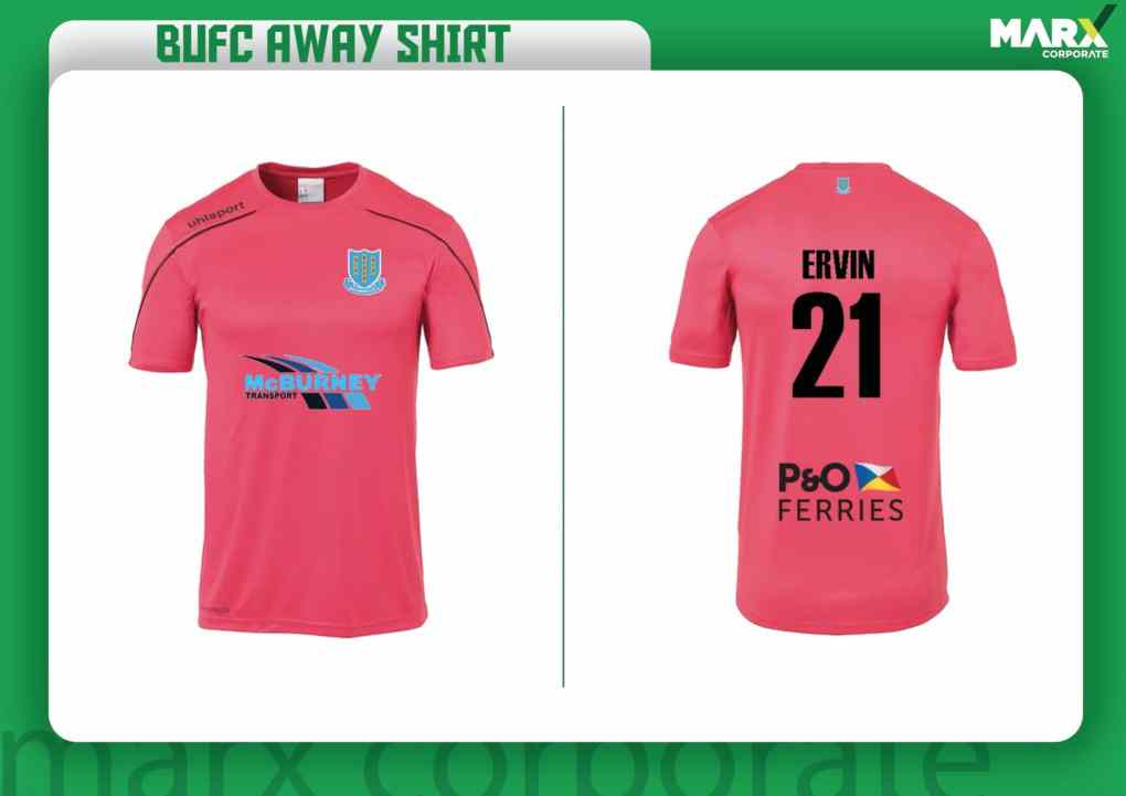 Ballymena United 2019-20 Away Kit Vote