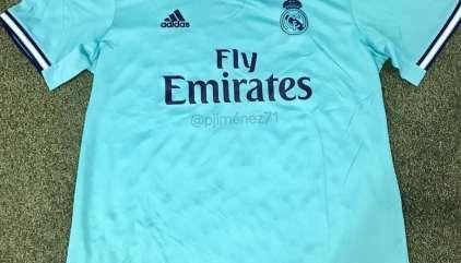 7f4e34b79a4 Real Madrid 2019-20 Away Shirt Leaked