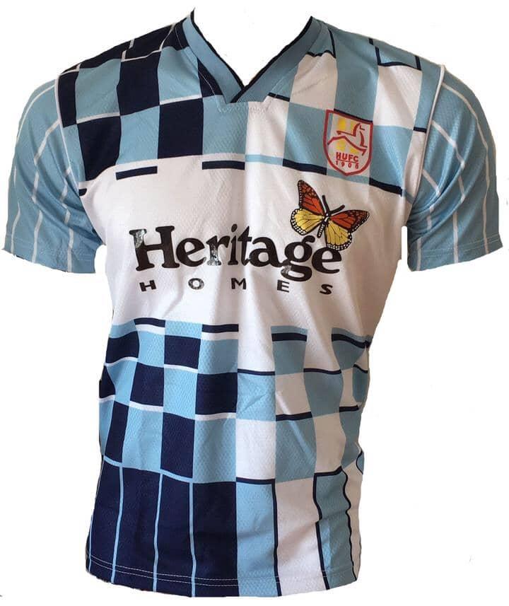 Hartlepool United 1991-92 Home Shirt Rereleased