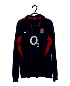 2003-04 England Away Rugby Shirt