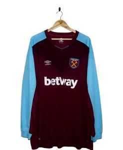 2017-18 West Ham Home Shirt