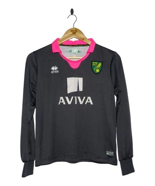 2015-16 Norwich City Home Goalkeeper Shirt