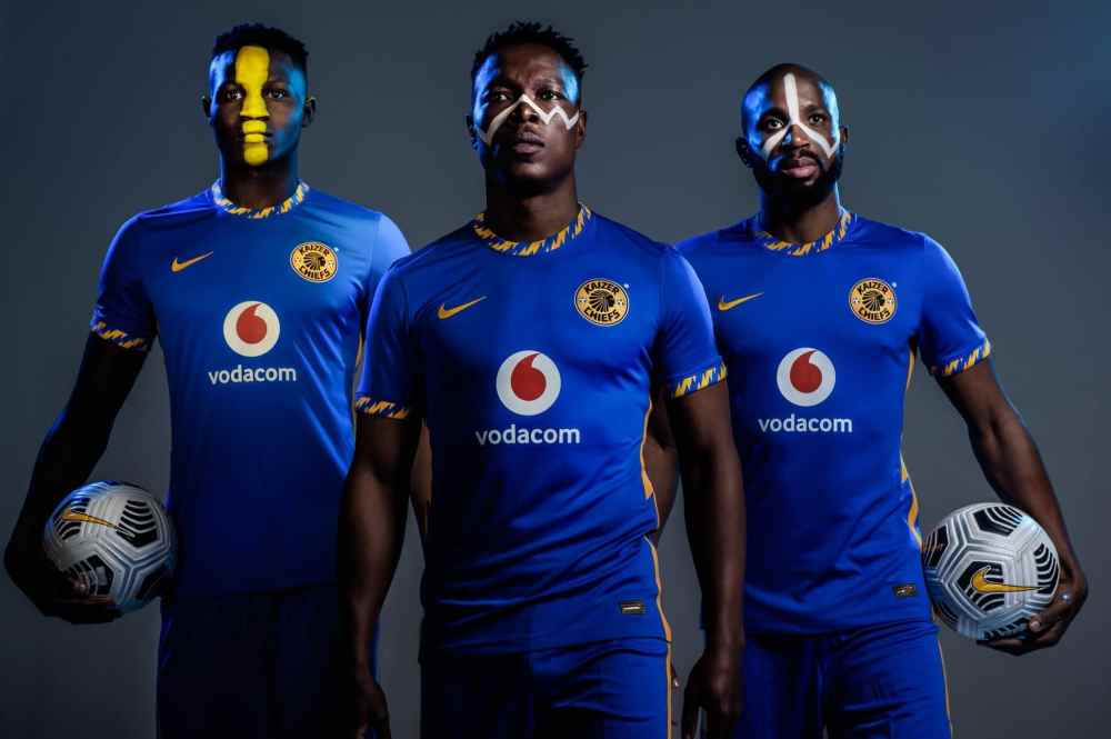 Kaizer Chiefs 2020-21 Nike Kits Revealed