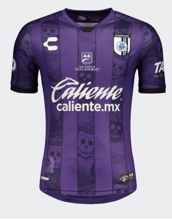 Club Queretaro 2020-21 Day Of The Dead Third Kit