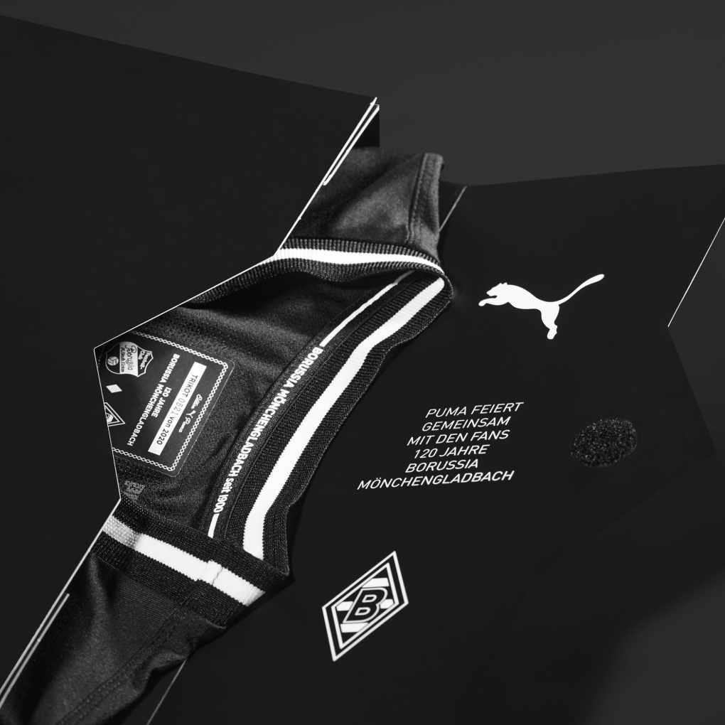 Borussia Mönchengladbach 120th Anniversary Kit 2020-21