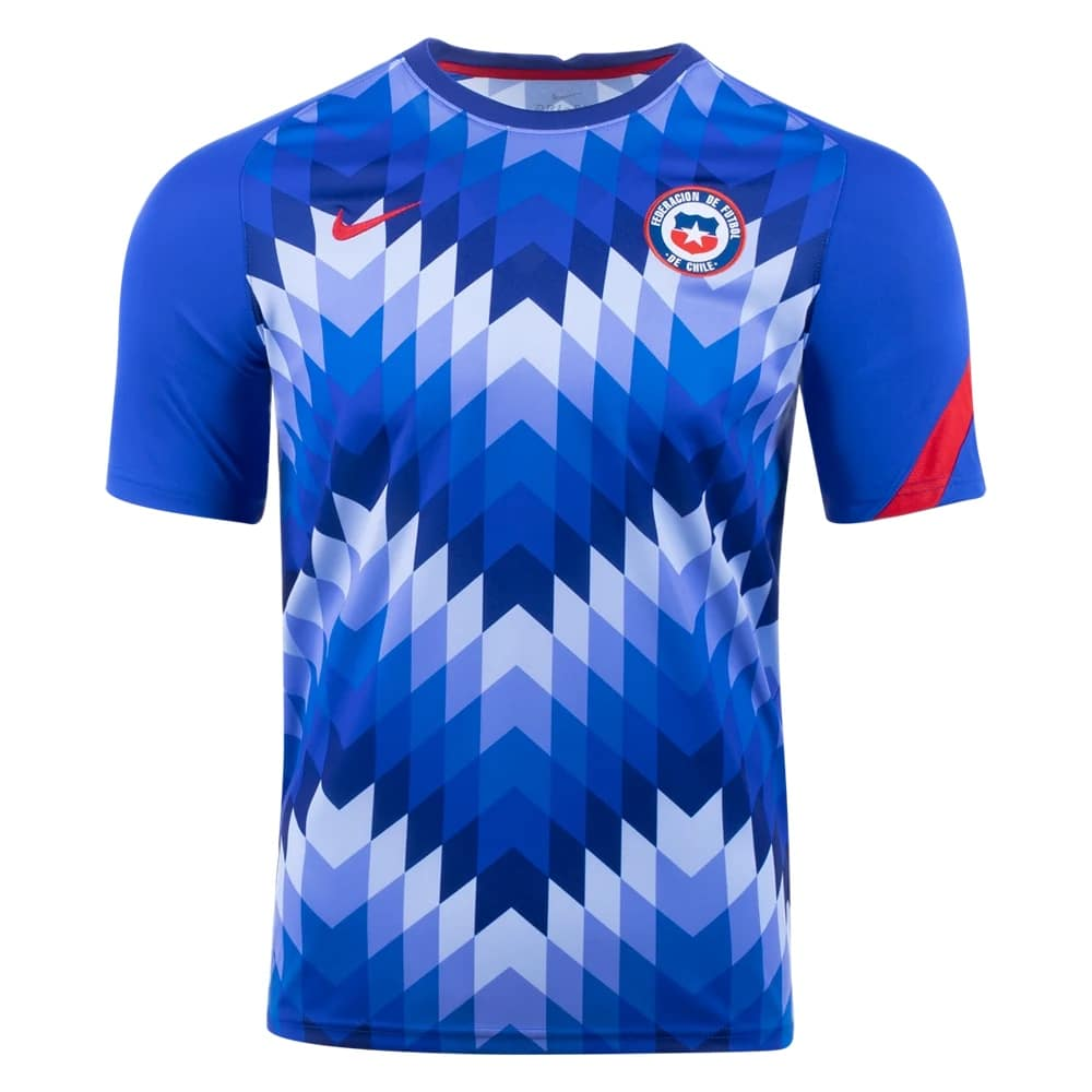 Nike 2020-21 Chile Pre Match Shirt Released