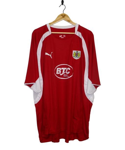 2007-08 Bristol City Home Shirt