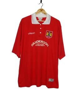 1998-99 Bristol City Home Shirt