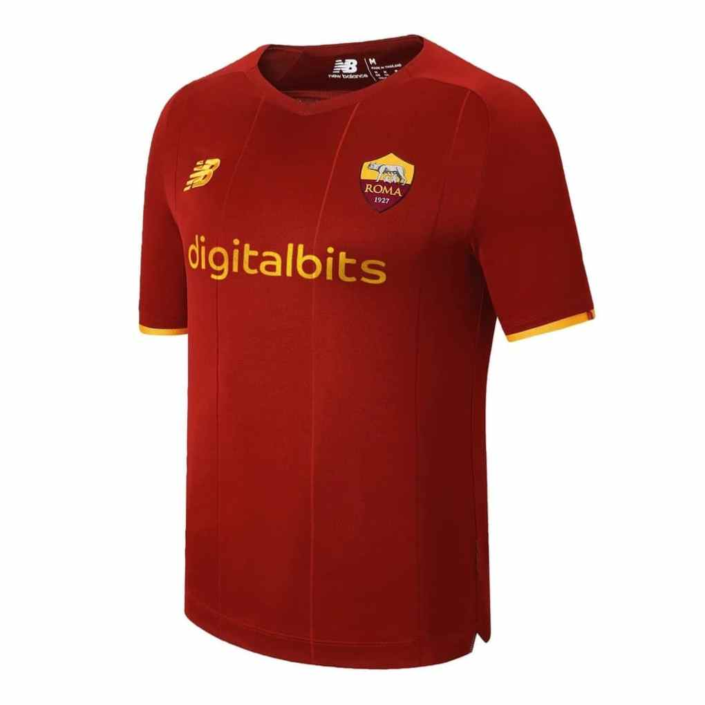 New Balance 2021-22 AS Roma Home Shirt Leaked?