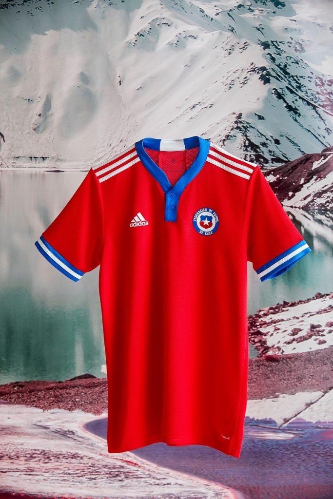 Adidas 2021-22 Chile Home Shirt