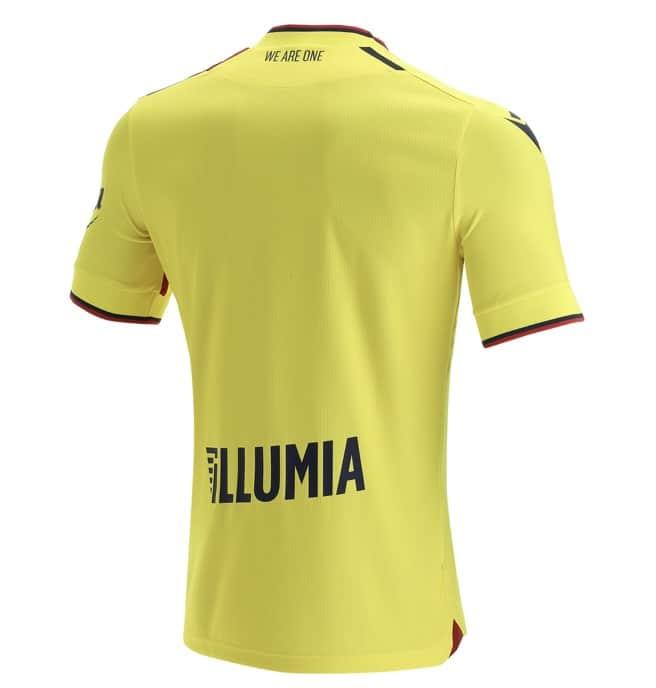 Bologna FC 2021-22 Macron Third Kit